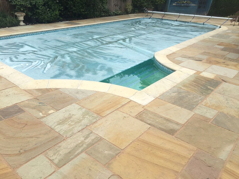 Poolside Renovation Complete
